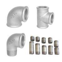 Galvaniseret fittings & rør